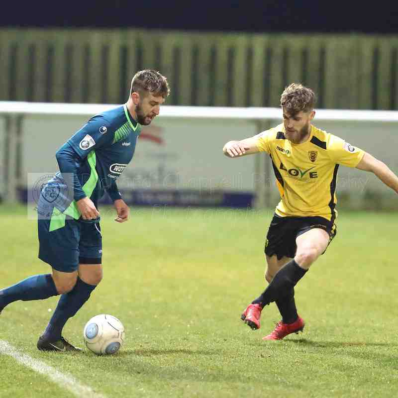Chippenham Town V Gloucester City Match Pictures 5th March 2018