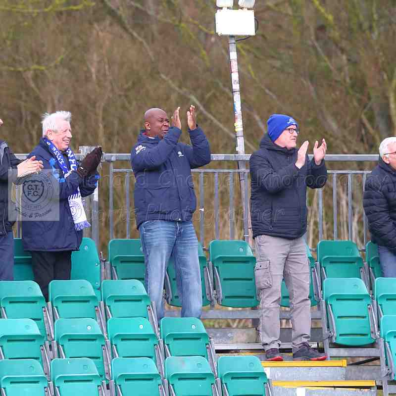 Chippenham Town V Whitehawk Match Pictures 10th March 2018