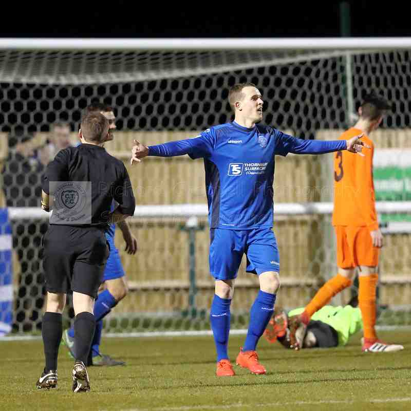 Chippenham Town V Bemerton Heath Match Pictures Wilts Senior Cup 13th March 2018
