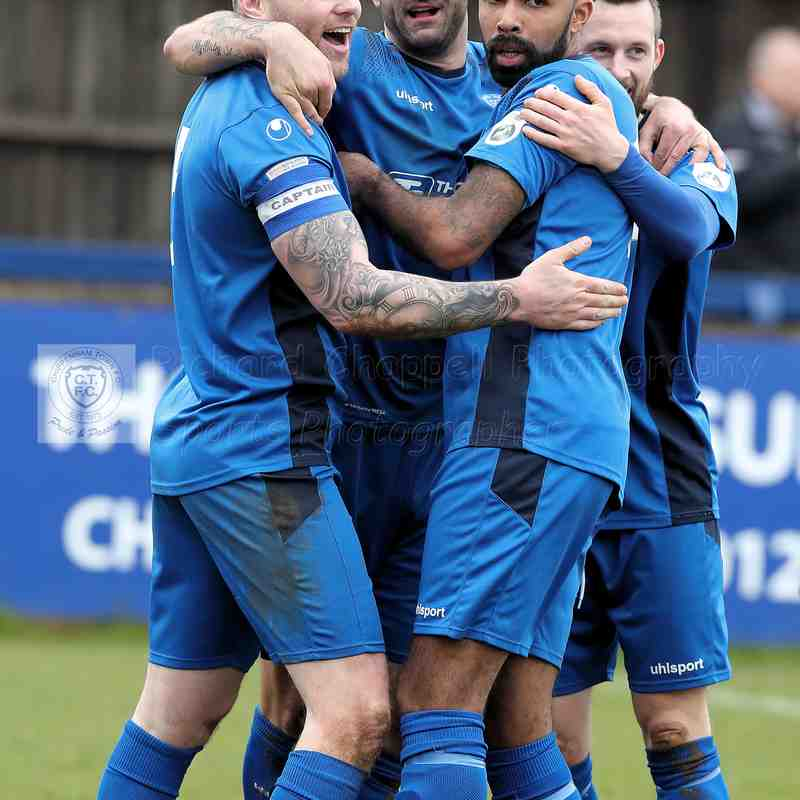 Chippenham Town V Eastbourne BoroughMatch Pictures 31st March 2018