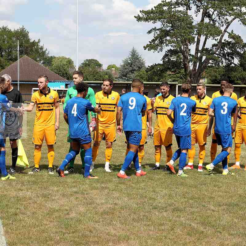 Chippenham Town V Newport County Friendly Match Pictures 14th July 2018