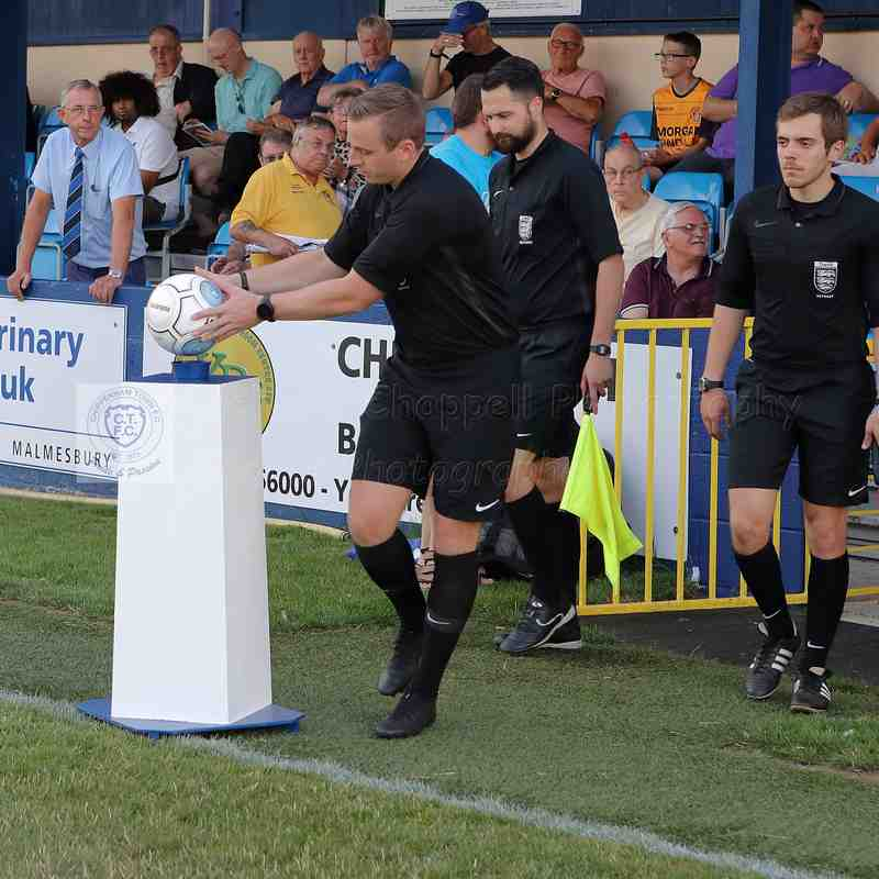 Chippenham Town V Slough Town Match Pictures 7th August 2018