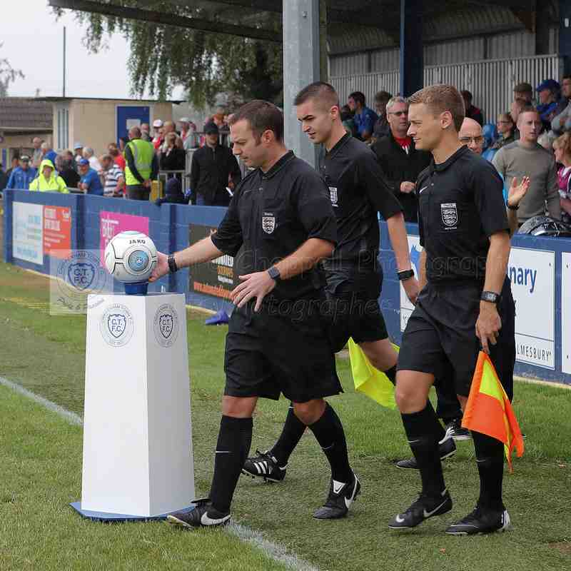 Chippenham Town V Welling United Match Pictures 11th August 2018