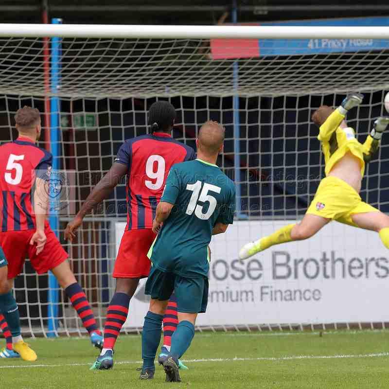 Chippenham Town V Hampton & Richman Match Pictures 27th August 2018