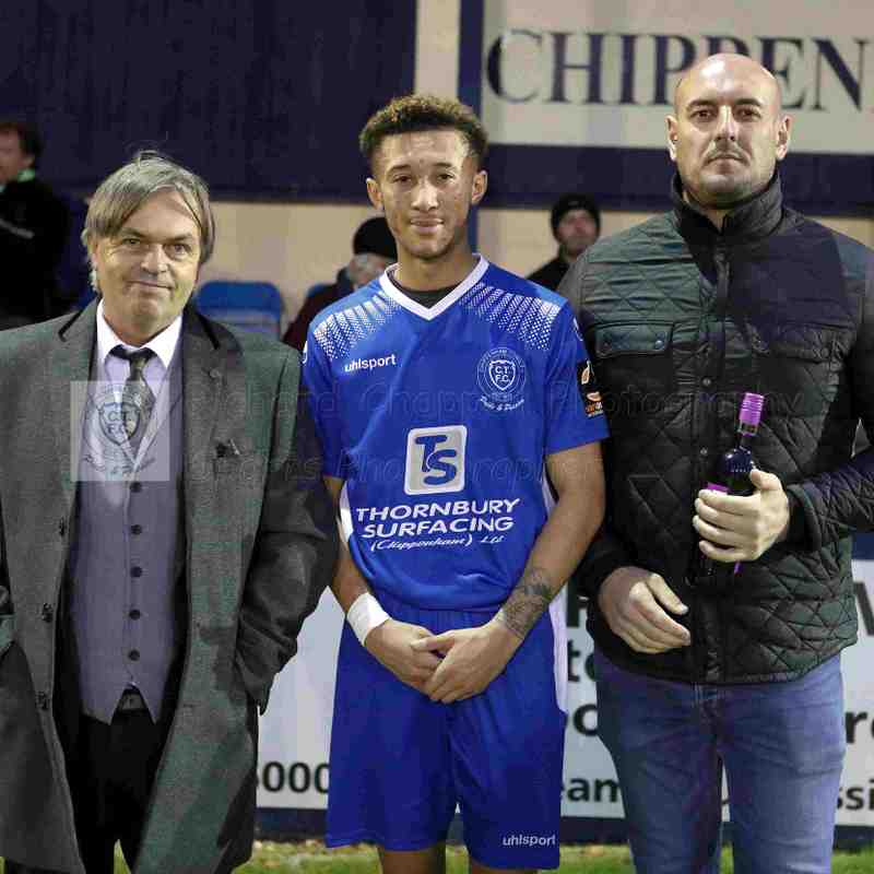 Chippenham Town V Woking Match Pictures 3rd November 2018