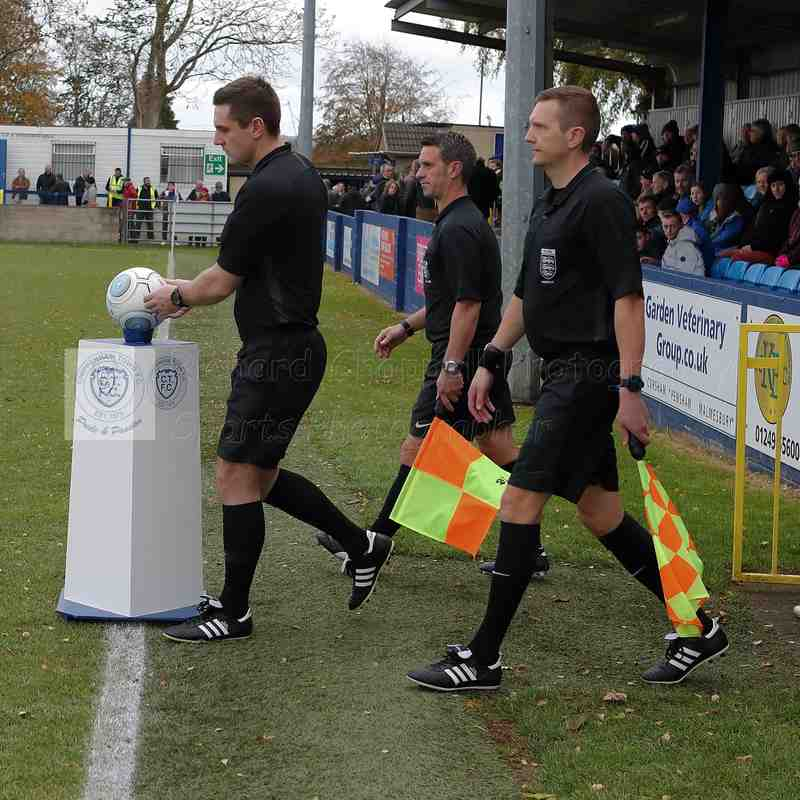Chippenham Town V Woking Match Pictures 3rd November 2018