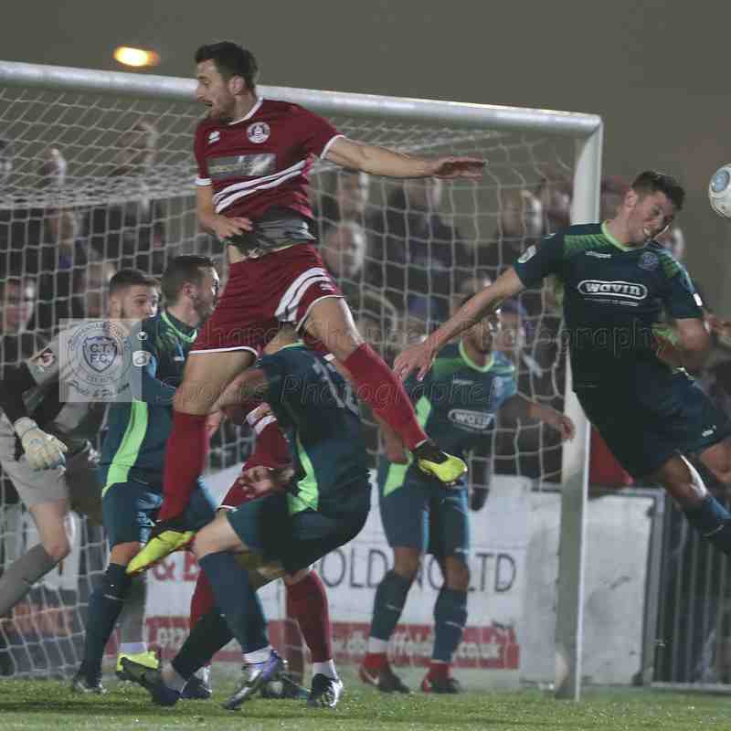 Chippenham Town V Chelmsford City Match Pictures 5th November 2018