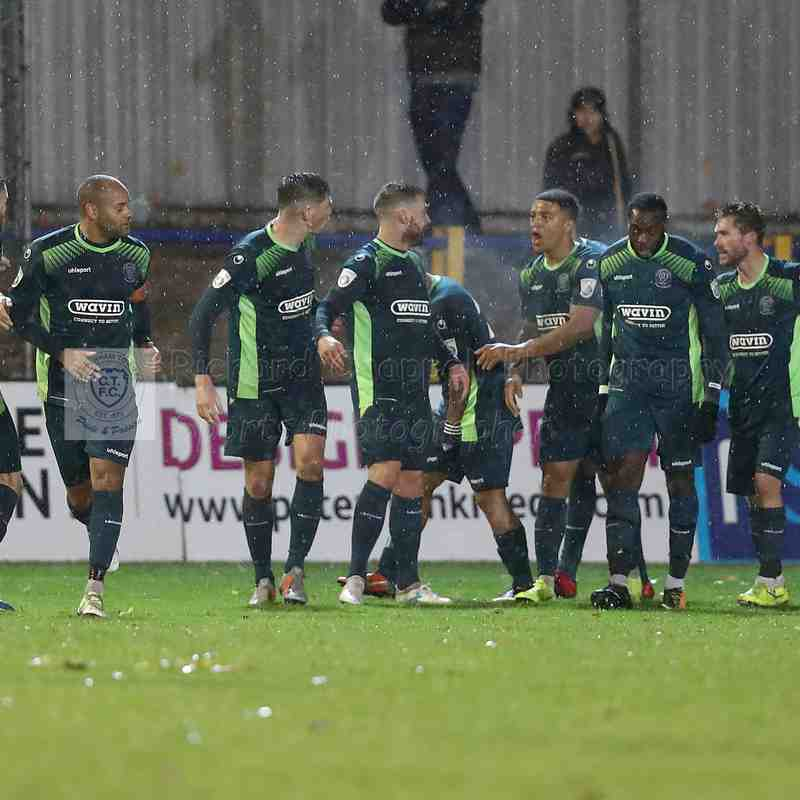 Chippenham Town V St. Albans City Match Pictures 10th November 2018