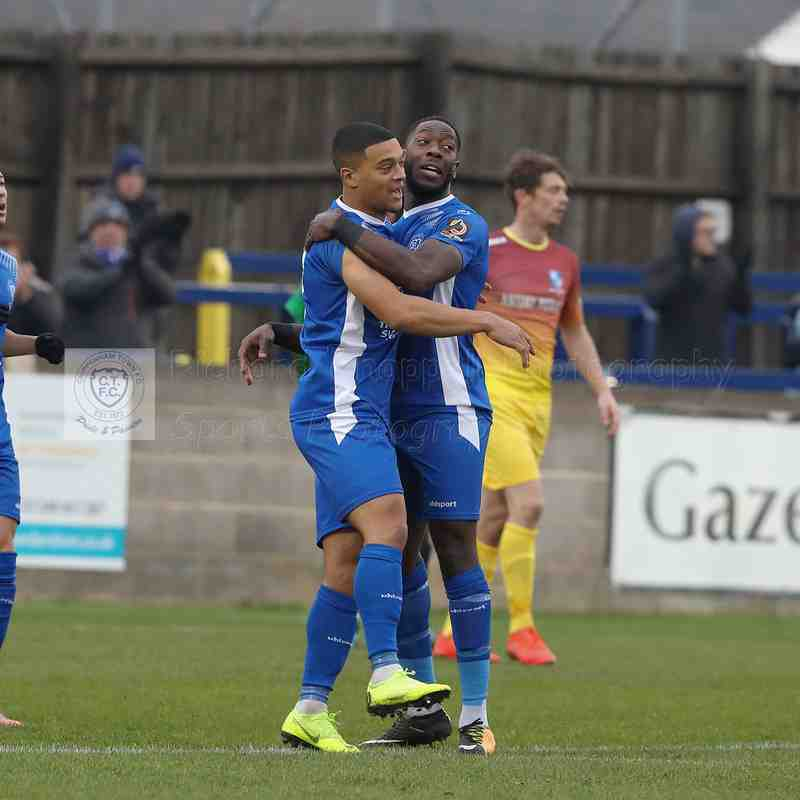 Chippenham Town V Wingate & Finchley FA Trophy Match Pictures 24th November 2018