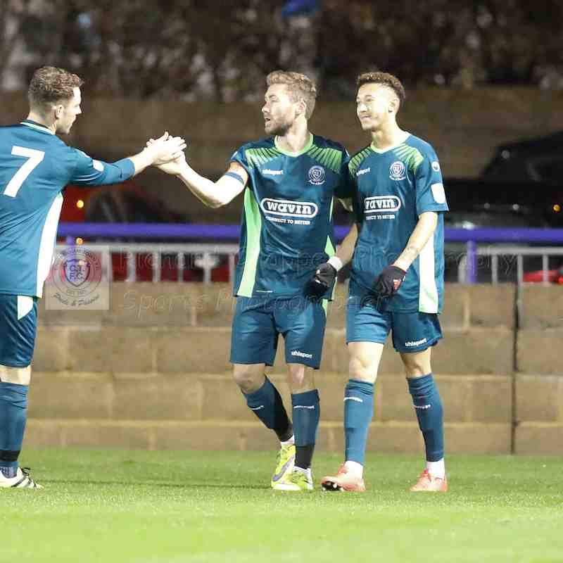 Chippenham Town V Wingate & Finchley Replay FA Trophy Match Pictures 24th November 2018