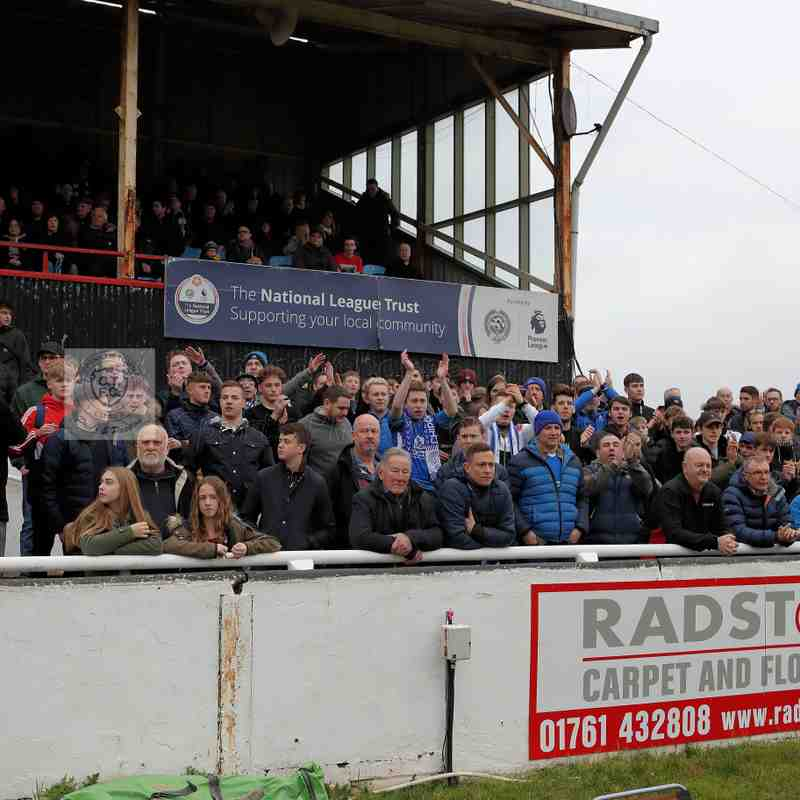 Chippenham Town V Bath City Match Pictures 1st January 2019