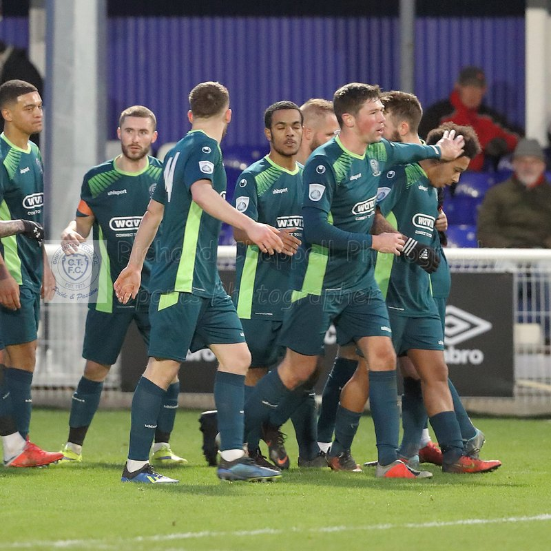 BILLERICAY TOWN 1 2 CHIPPENHAM TOWN – Sat 12th Jan 2019