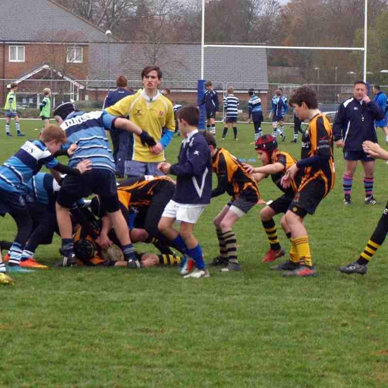 U12 Newbury 10 - 25 Marlborough