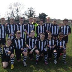 U14A LEAGUE CUP FINAL 2012/13