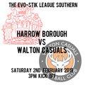 Harrow Borough vs. Walton Casuals