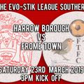 Harrow Borough vs. Frome Town