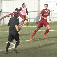 AFC Croydon Athletic lose to Crowborough Athletic 3 - 2