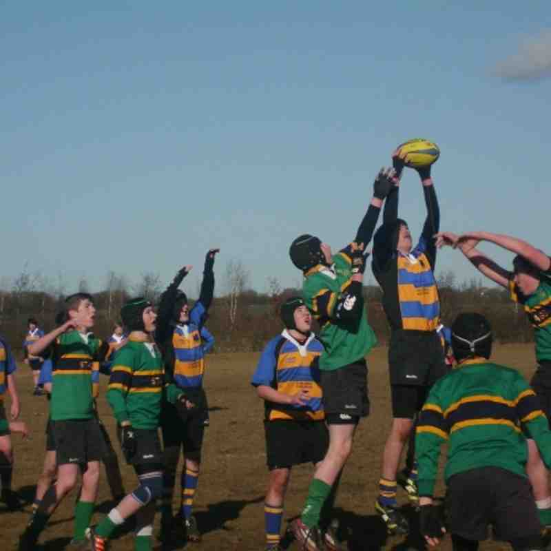 Under 13s vs Stags 19 2 12