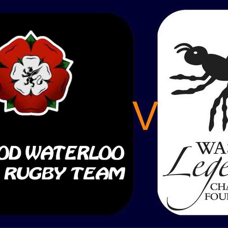 Waterloo Ladies v Wasps Legends Ladies - 21st May 2016