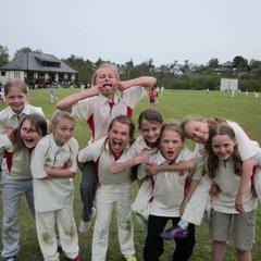Girls U11 Team at Chagford Festival