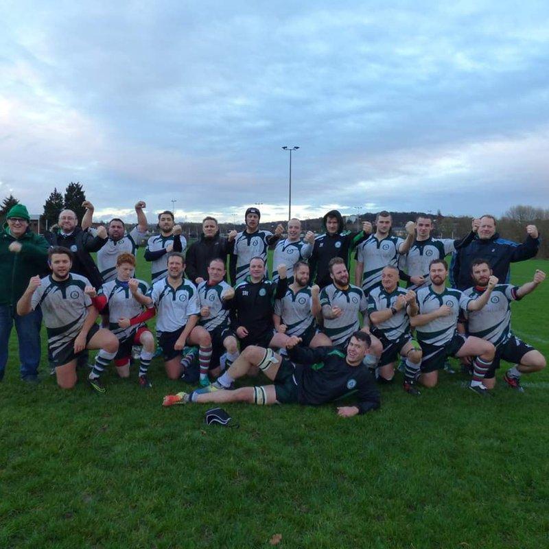 1st Team beat Charlton Park III 17 - 40