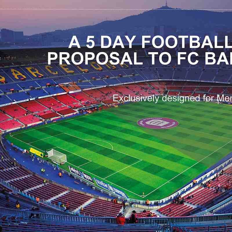 Barcelona 2020 tour slide