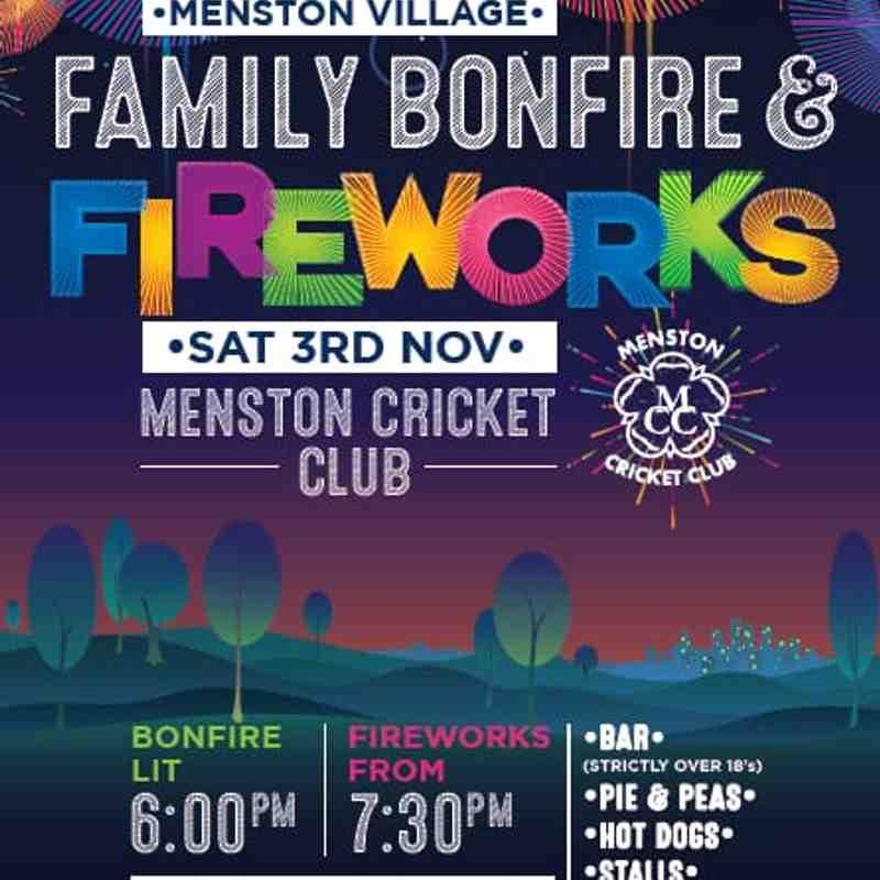 Menston Firework night
