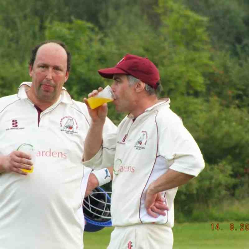 Hendred 2nd Xl vs Faringdon in Osberton Radiators Cup