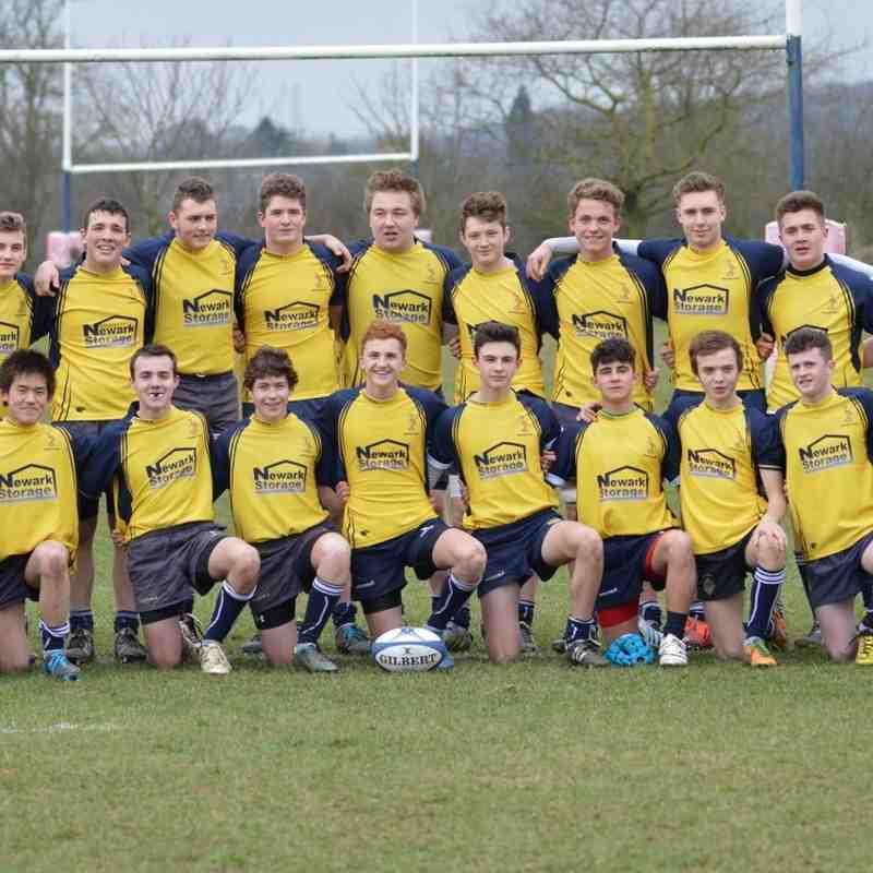 Newark U16s v Doncaster 08.03.15.