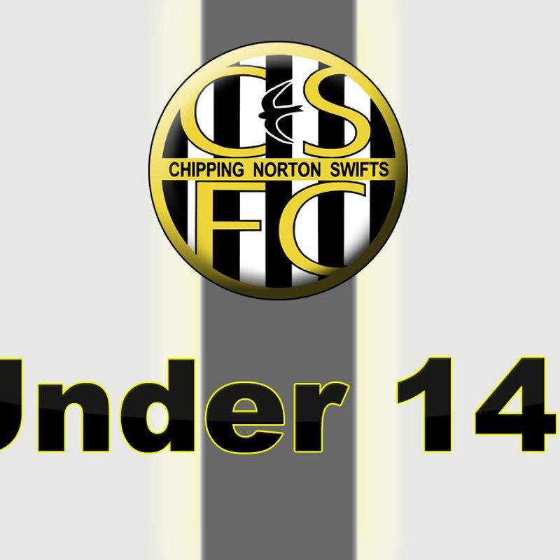 Under 14's beat Launton FC 2 - 1