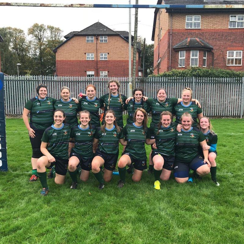 Ladies 1st XV lose to Broughton Park 48 - 7