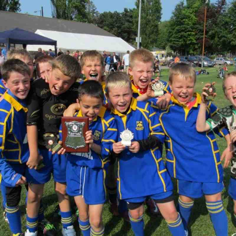 New Panteg U9s Tournament Winners 2011