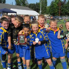 New Panteg U9s Tournament Winners 2011