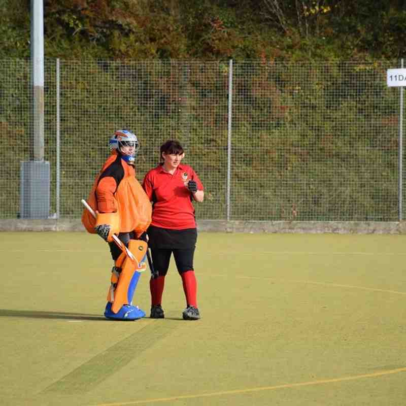 Ladies 2nds 4-3 South Downs - Halloween Friendly