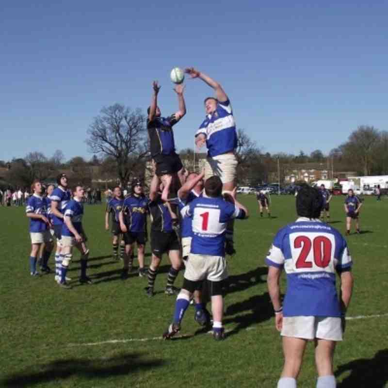 2nds v Hertford Herts Cup semi-final
