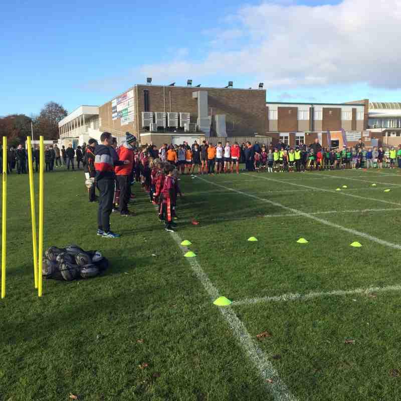 Remembrance Sunday at Ponteland RFC