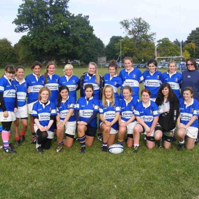Herts Baa Baa's team v Egham