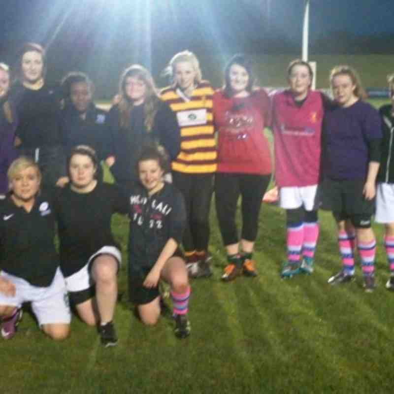 Last training session Camelot/Luton as girls go off to Uni