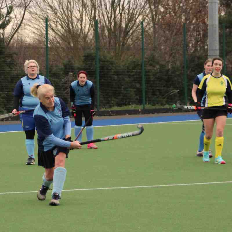 Ladies 2s vs Norton 12.01.19
