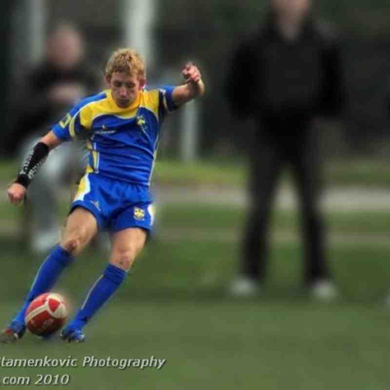 Athletic v Llantwit Fardre A Stamenkovic 16Oct2010