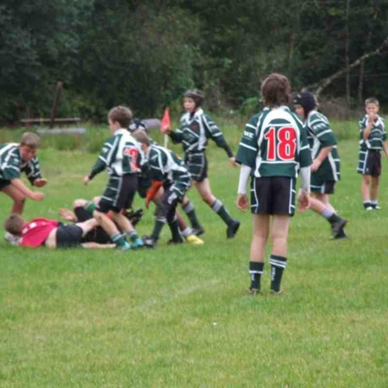 U12 - Dunvant vs Uplands [30th Sept 2012]