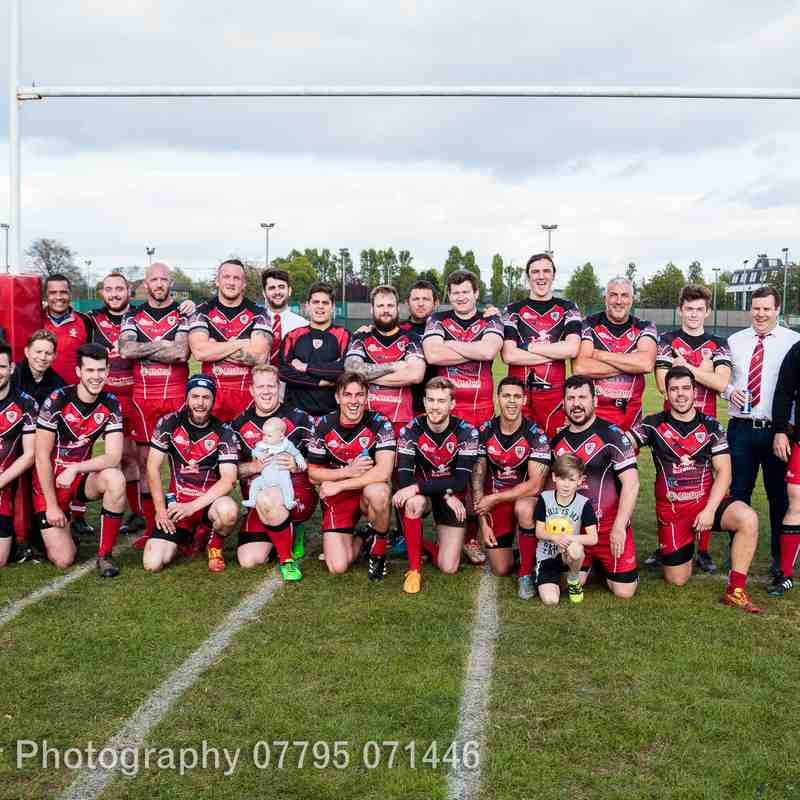 1st team vs Royal Bank of Scotland 22-04-17