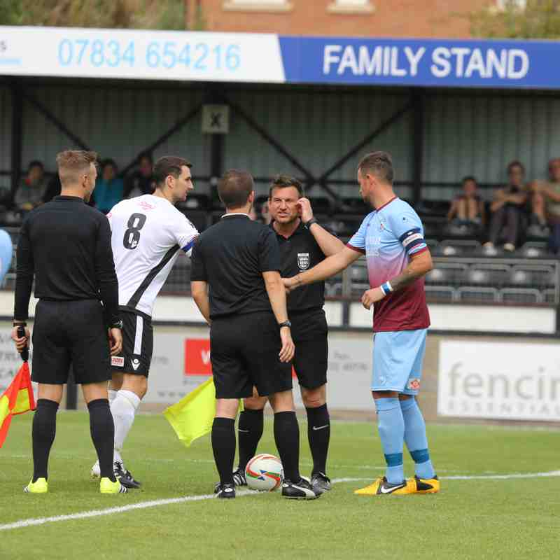 First Team v Salisbury - Sat 27 Aug 2016