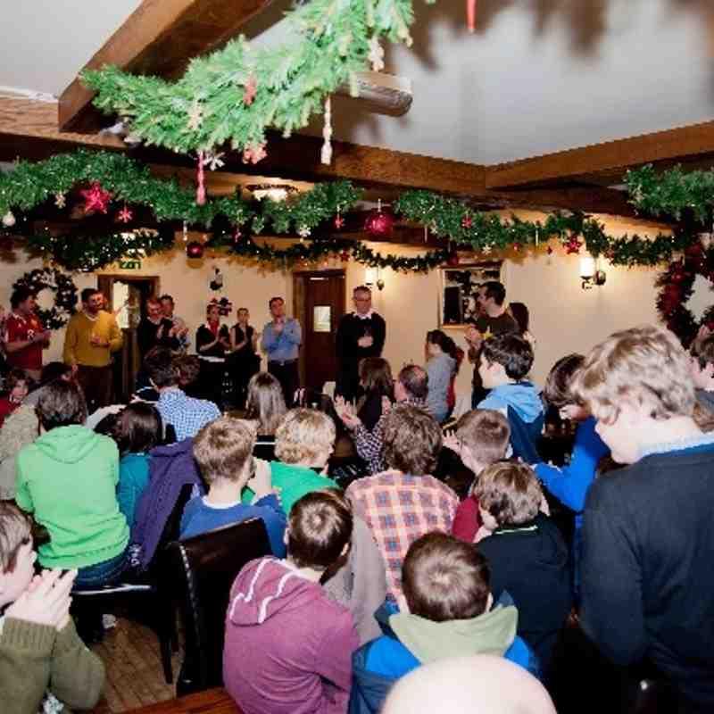 U13 Christmas Party 2013