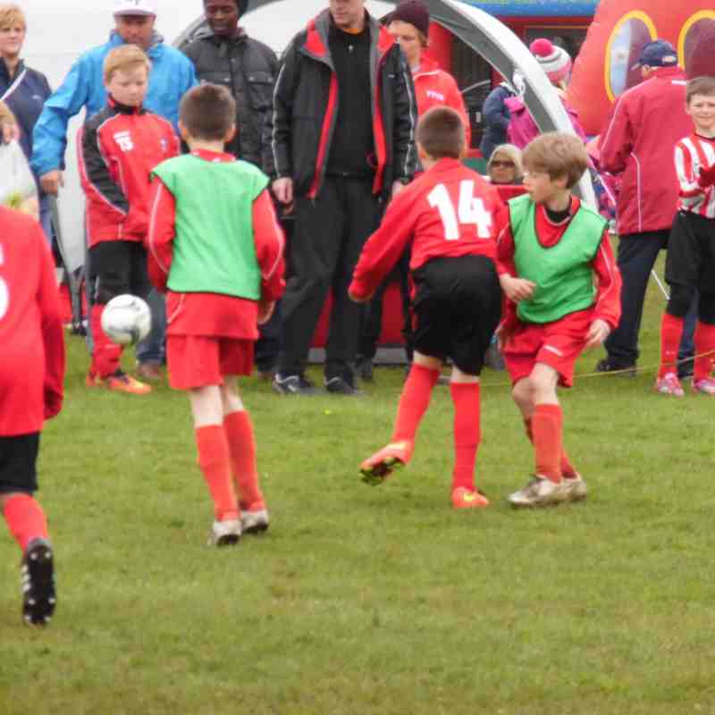 Silsden u10 Knights at Crossley Juniors Tournament