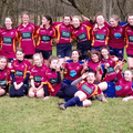 Under 15's Girls beat Warminster tour 0 - 68
