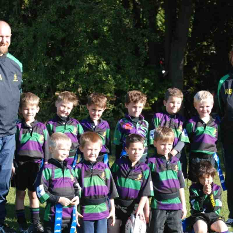 Under 7's Festival (winners!) 14Oct2012 @ Guildford Rugby club