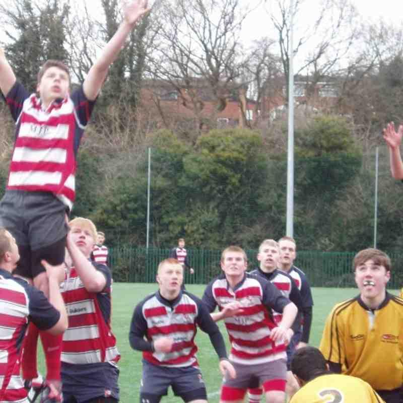 Sefton U16's v Burnage