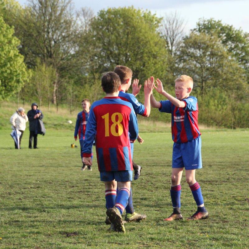 Thornes Juniors U12 vs Rothwell Juniors U12
