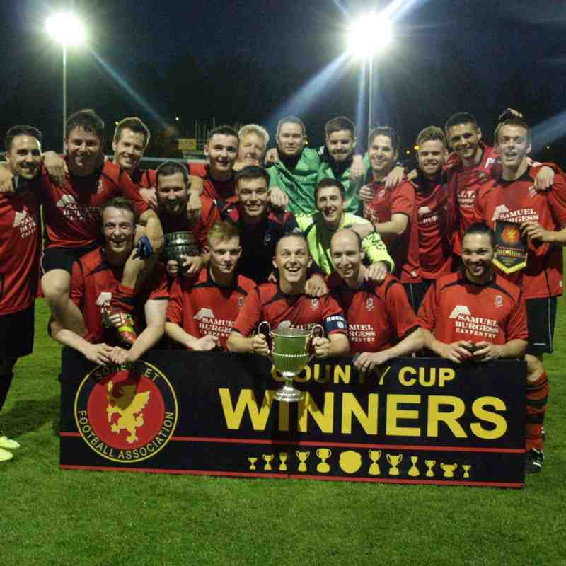 Somerset Senior Cup Final 2015 #Winners